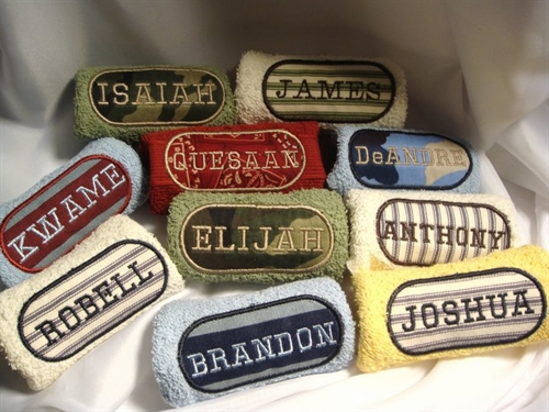 Patch Personalized Wash Cloth