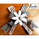 Personalized Wooden Utensils Kit